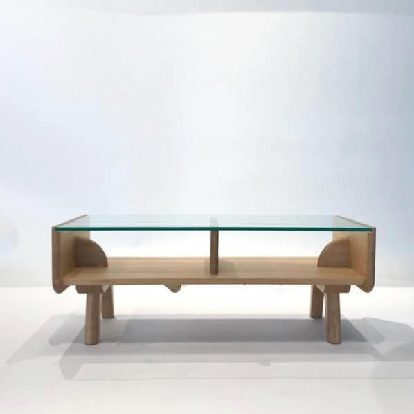 センターテーブル リーフ